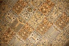 Turkish carpet pattern Stock Images
