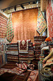 Turkish Carpet Shop Stock Image