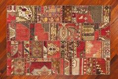 Turkish carpet. Very high quality, hand craftsmanship Turkish carpets Stock Photo