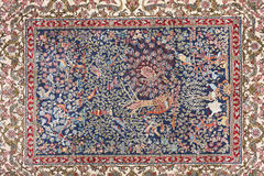 Turkish carpet Royalty Free Stock Images