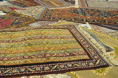 Turkish carpets Stock Image