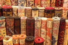 Turkish Carpets in Grand Bazaar Stock Photography