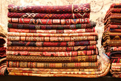 Turkish Carpets in Grand Bazaar Royalty Free Stock Photo