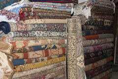 Turkish carpets and kelims Stock Image