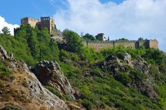 Turkish castle Royalty Free Stock Photo