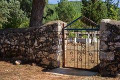 Turkish Cemetery Royalty Free Stock Photos