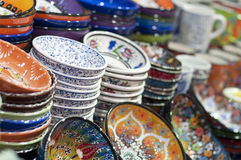 Turkish ceramic art Stock Photography