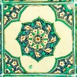 Turkish Ceramic Tile Stock Photo