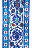 Turkish ceramic Tiles, Istanbul Stock Image