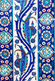 Turkish ceramic Tiles, Istanbul Stock Photo