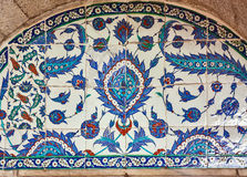 Turkish ceramic Tiles, Istanbul Royalty Free Stock Photos