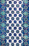 Turkish ceramic Tiles, Istanbul Royalty Free Stock Images