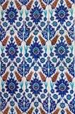 Turkish ceramic Tiles, Istanbul Stock Photos