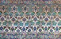 Turkish ceramic Tiles, Istanbul Royalty Free Stock Images