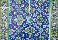 Turkish ceramic tiles Royalty Free Stock Images