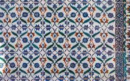 Turkish ceramic tiles Stock Photography
