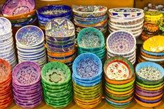 Turkish Ceramics Royalty Free Stock Photos