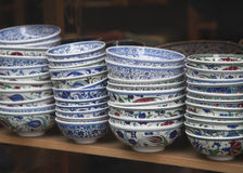 Turkish ceramics Stock Photo