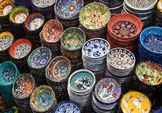 Turkish ceramics Stock Photography