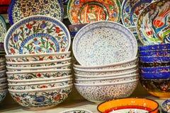 Turkish ceramics Stock Images
