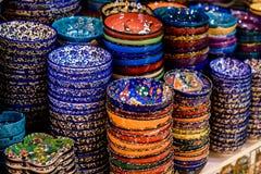 Turkish ceramics Royalty Free Stock Photography