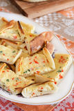 Turkish cheese pide Stock Image