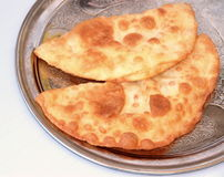 Turkish cheese pie fried in oil ( Cig borek ) Royalty Free Stock Photography