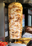 Turkish Chicken Doner Kebab Stock Image
