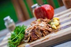 Turkish Chicken Doner / Shawarma stock photo