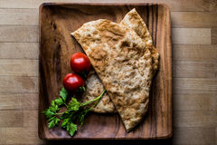Turkish Cig Borek / Tatar Pie with minced meat. Royalty Free Stock Images