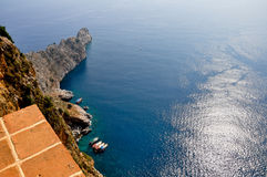 The Turkish Cliffs Royalty Free Stock Image