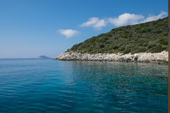 Turkish coastline Royalty Free Stock Photos