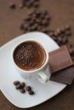 Turkish Coffee. Prepared the Ottoman traditional way Royalty Free Stock Photos