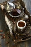 Turkish coffee. Stock Photo