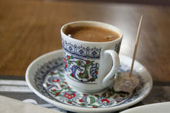 Turkish coffee.Istanbul Royalty Free Stock Images