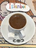 Turkish coffee break at Istanbul Royalty Free Stock Photos