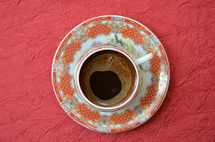 Turkish coffee  in a chinese pot Royalty Free Stock Photos