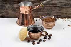 Turkish Coffee Cup Stock Photography