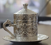 Turkish coffee cup Stock Photo