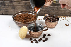 Turkish coffee cup Stock Images