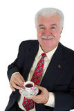 Turkish Coffee Drinker Business Man Royalty Free Stock Photo