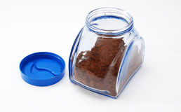 Turkish coffee in a glass jar Royalty Free Stock Photography