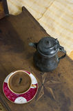 Turkish coffee - Greek coffee Royalty Free Stock Images