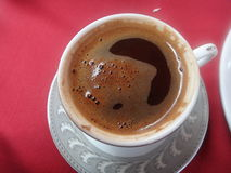 Turkish coffee in Istanbul. Turkey Stock Photo