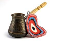 Turkish coffee pot Stock Image