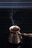 Turkish coffee pot Royalty Free Stock Images