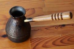 Turkish coffee pot Stock Photography