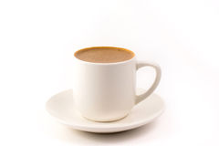 Turkish Coffee. On a white plain background Stock Photography