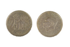 Turkish coin Royalty Free Stock Photography
