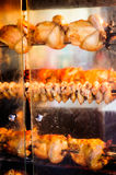 Turkish Cooked Chicken On Restaurant Exterior Stock Photography